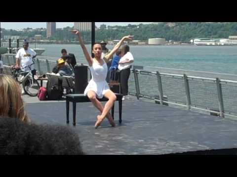 Dance Theater of Harlem at West Harlem Piers Park Ribbon Cutting (Clip1)