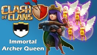 Clash Of Clans - Immortal AQ Raid With Max Healers