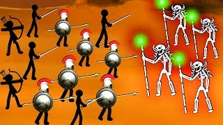 Creepy Skeleton Mage Stickman Brings Chaos to our Kingdom in Stick War 2: Order Empire!