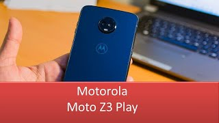 Moto Z3 Play  - A New Refreshing Look 2020