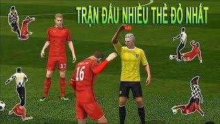 Đá trận đấu nhiều thẻ đỏ và cái kết Dream League Soccer 2019