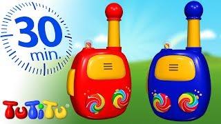 Игрушки для малышей | Рация | 30 минут ТуТиТу Игрушки