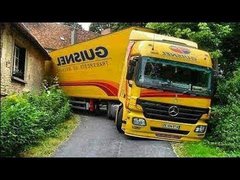 जाबांज ट्रक ड्राईवर पहले कभी नहीं देखे होंगे .. कला देखकर होगा सीना चौड़ा-Amazing Truck Driving