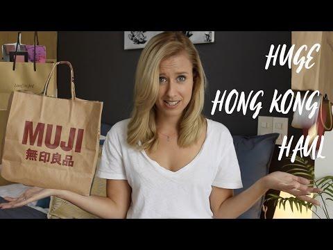 HUGE Hong Kong Haul