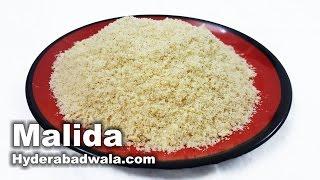 Download Lagu Malida Recipe Video  - How to Make Malida at Home  - Easy & Simple Hyderabadi Cooking mp3