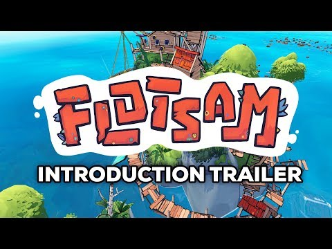 Flotsam, the game about building a floating town out of garbage, is now on Steam | PC Gamer
