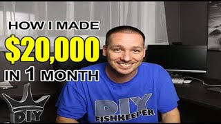 How I made $20,000 in 1 month from breeding aquarium Discus fish