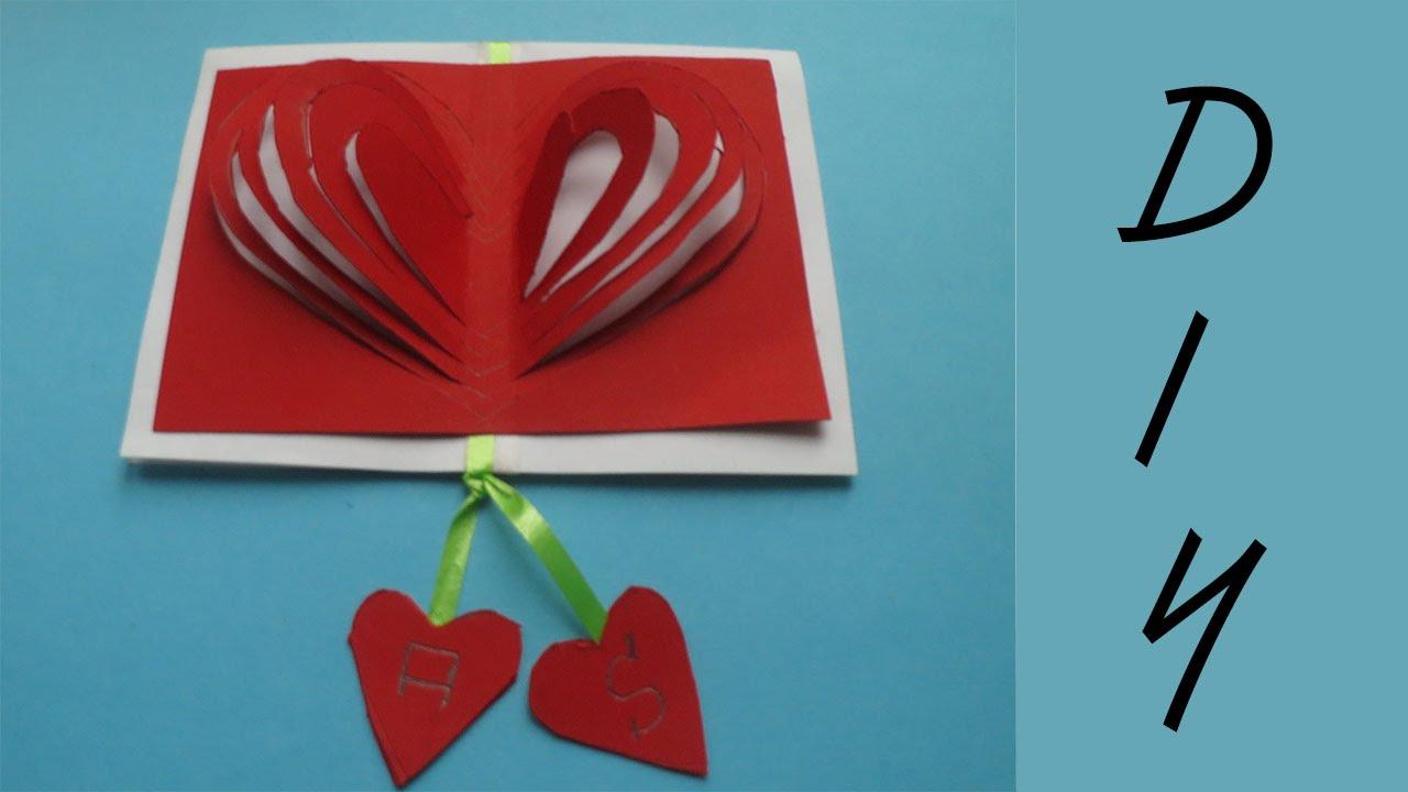 Valentinstag Geschenk Karte Basteln Deko Ideen Mit Flora