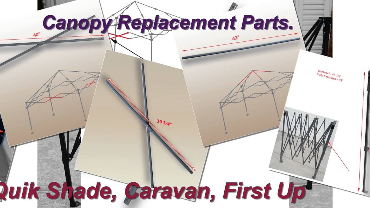 Canopy Repair Replacement Parts. How to fix your canopy  sc 1 st  YouTube & Canopy Repair Replacement Parts. How to fix your canopy - YouTube