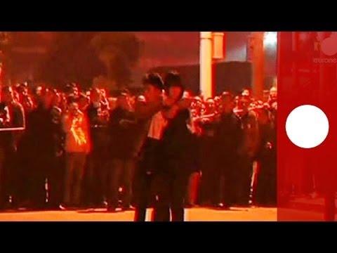 Hostage standoff video: