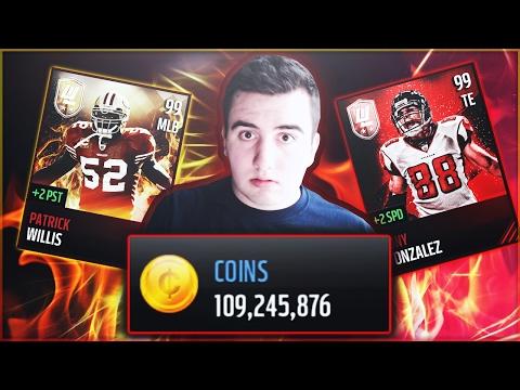 100 MILLION COINS PACK OPENING! 100x UL PACKS, 100x ALL-PRO PACKS, 100x SEASON STAR PACKS!