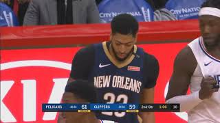 Patrick Beverley Steals Anthony Davis Shoe Then Gets A Technical Foul! Pelicans vs Clippers
