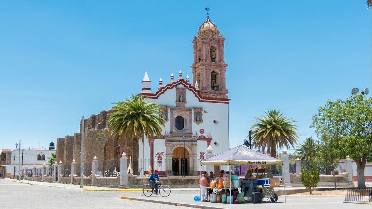 Parroquia de San Blas - Pabellón de Hidalgo 【4K】 - YouTube