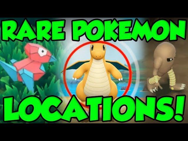 Rare Pokemon Locations In Pokemon Let S Go Pokemon Let S Go Pikachu Rare Pokemon Guide Youtube