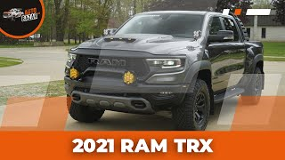 RAM TRX Build   Baja Designs, RamBar с крышкой кузова, Decked