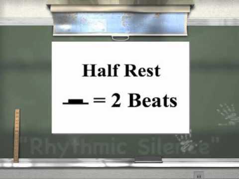 Rhythm II - Half Note/Rest