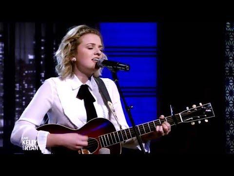 Maddie Poppe Interviewed & Performs On (Kelly & Ryan)