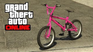 GTA 5 Online - How to Change a Bike's Color