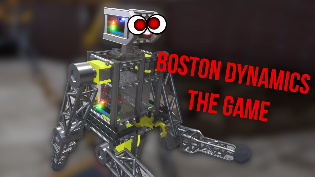 Teaching a Robot to Destroy Humans, One Step at a Time – Cybermotion returns in 3D!
