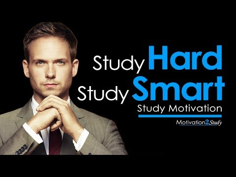 Study HARD Study SMART - Motivational Video on How to Study EFFECTIVELY