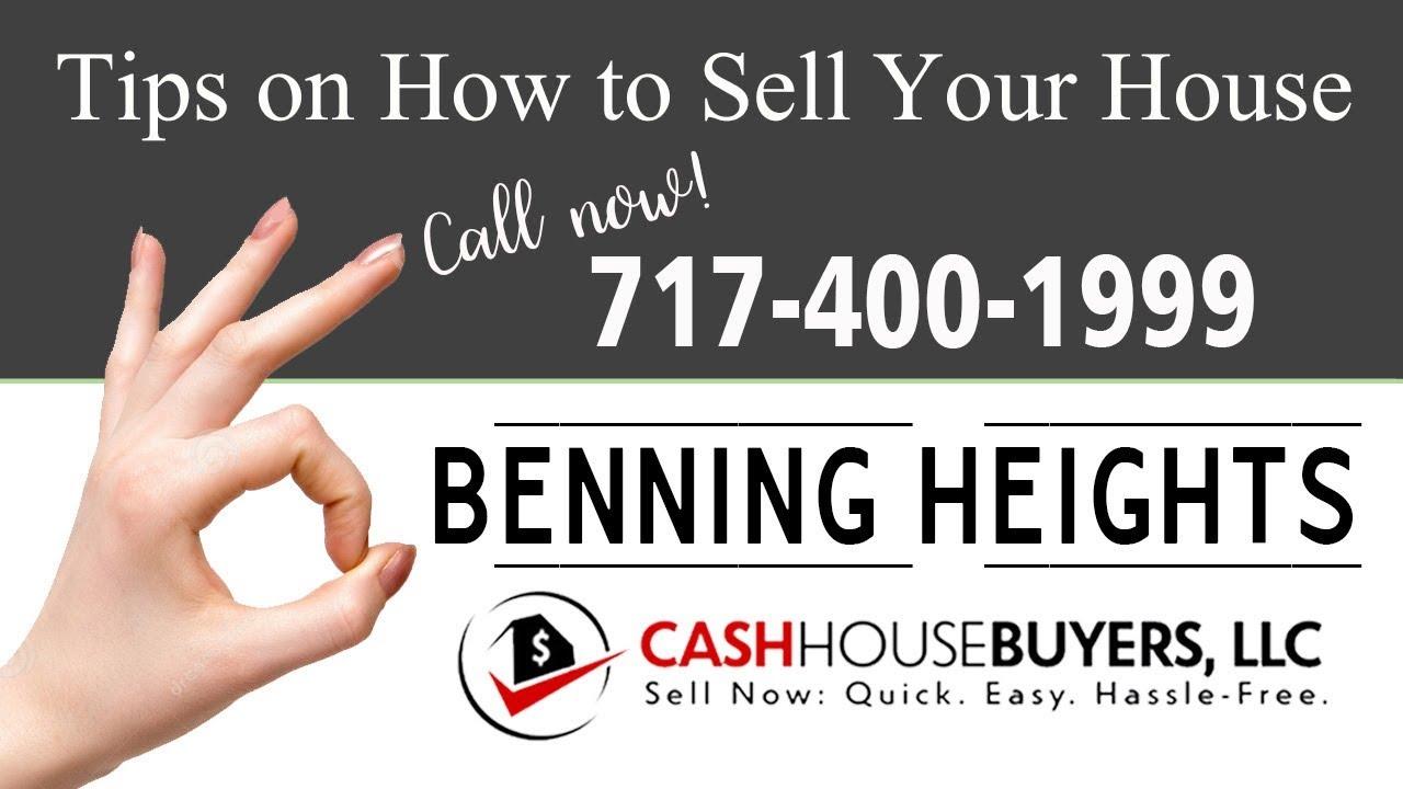 Tips Sell House Fast  Benning Heights Washington DC   Call 7174001999   We Buy Houses