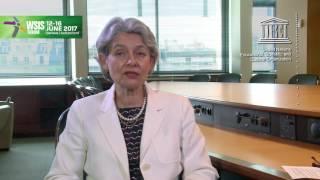Irina Bokova, Director General, UNESCO Video Message for WSIS FORUM 2017 thumbnail