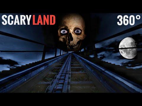 Scary 360° Rollercoaster SCARYLAND VR POV HORROR Dark Ride 360 도 롤러코스터 탐험 ジェットコースター