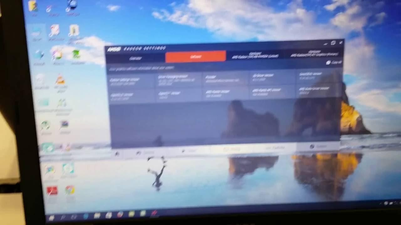 Acer Asipre E15 E5-553G AMD A12 9700P / R7/R8 M445DX - YouTube