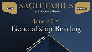 SAGITTARIUS | Blessings In Disguise! June 2018 Love & General Tarot Reading