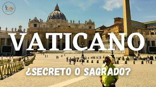 GUÍA para visitar los SECRETOS del VATICANO  ARTE Y ARQUITECTURA