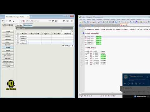 User Manager (Userman) 2 - Limit Setting - YouTube
