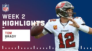 Father Time is Losing this Battle with Brady, Best Passes from 5-TD Game | NFL 2021 Highlights