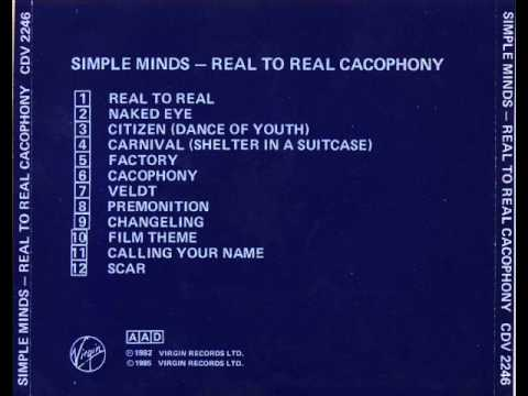 Image result for simple minds real to real cacophony