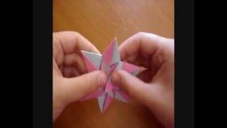 origami mennorode star ( modular )