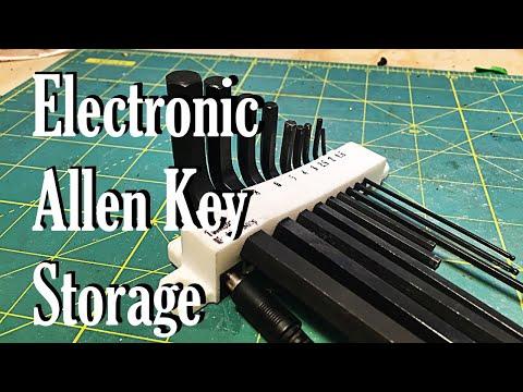 Allen Key Storage (with reminders!)