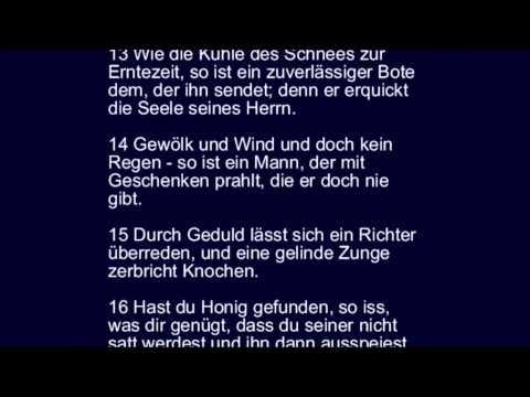 Sprüche 25 über Könige Streiten Falsches Und Rechtes Verhalten Und über Honig