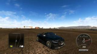 Test Drive Unlimited 2 - Car against airplane
