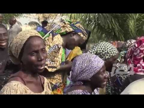 Video said to be of kidnapped Chibok schoolgirls released