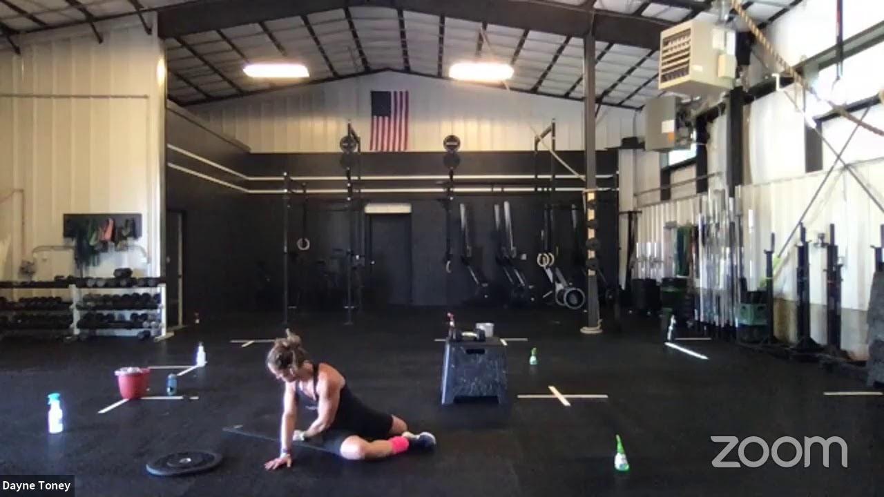 Live Workout Monday, June 6