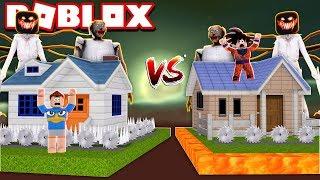 BASE HEYDAVI VS BETO BASE AGAINST MONSTERS IN THE ROBLOX!