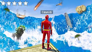 Surviving The Biggest TSUNAMI As The FLASH In GTA 5..