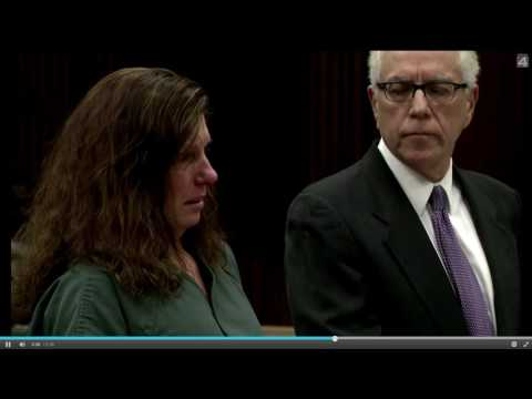 WOMAN LAUGHS IN COURT AT DEAD VICTIM'S FAMILY