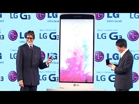 LG Launches G3 Smartphone, Limited Editiacon To Have Amitabh Bachchan's Signature