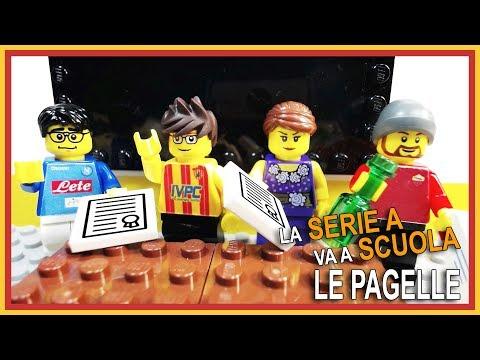 La serie a va a scuola - le pagelle • parodia gli autogol • my funny games builder • lego calcio