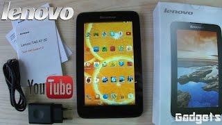 Lenovo Tab A7-30 A3300 Обзор планшета+Тест игр