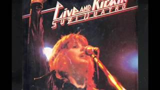 Suzi Quatro - Half As Much As Me, LIVE AND KICKIN 1977