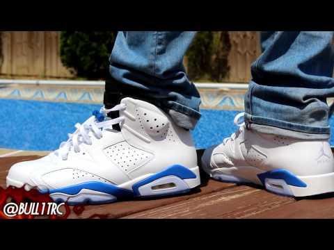 """Sport Blue"" Air Jordan 6 W/ On-Feet Review"