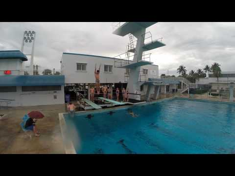 University at Buffalo Diving Team Training Trip 2017