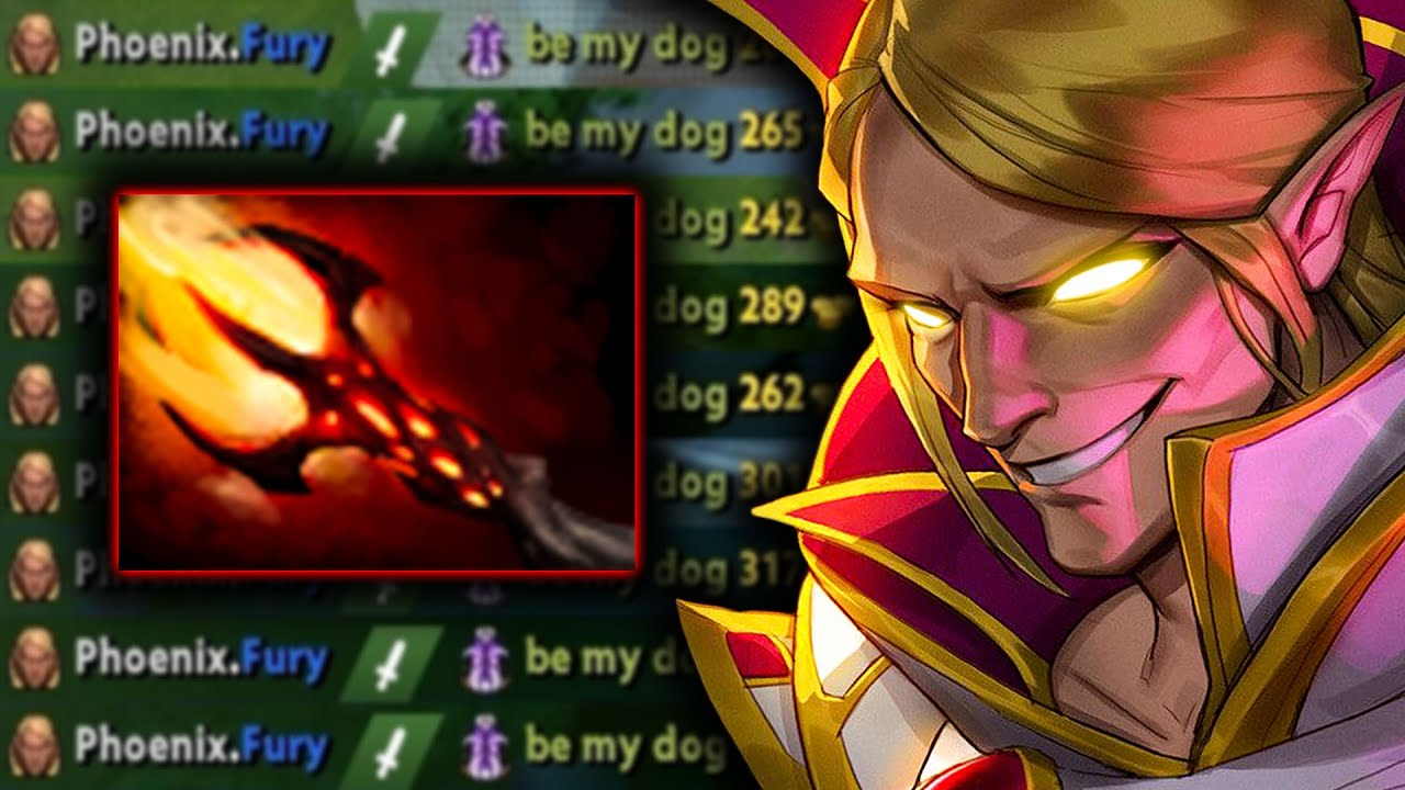 BUY DAGON AND DESTROY THE VOID SPIRIT | INSANE INVOKER BY RANK 412 FURY | Dota 2 Invoker