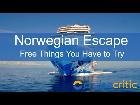 Norwegian Escape Attractions - 7 Free Things You Have to Try - Video Tour